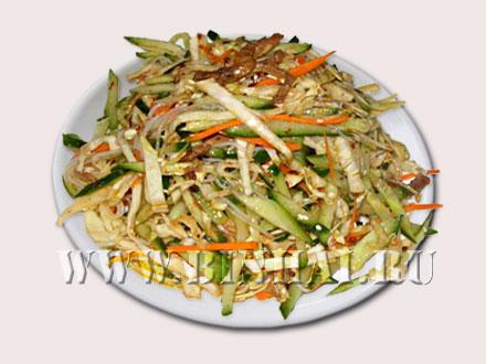 Салат по харбински китайский рецепт фото